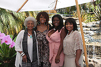 LOS ANGELES - AUG 20:  Nichelle Nichols, Beverly Todd, Julia Pace Mitchell, guest at the Julia Pace Mitchell Bridal Shower at the W Hotel - Westwood on August 20, 2011 in Westwood, CA