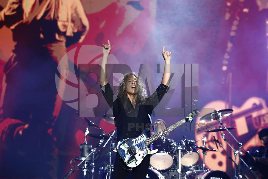 SÃO PAULO,SP, 25.03.2017 - LOLLAPALOOZA-SP - Metallica durante apresentação no primeiro dia do festival Lollapalooza no autódromo de Interlagos, neste sábado, 25. (Foto: Adriana Spaca/Brazil Photo Press)