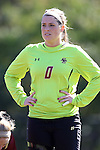 26 October 2014: Boston College's Alexandra Johnson. The Duke University Blue Devils hosted the Boston College University Eagles at Koskinen Stadium in Durham, North Carolina in a 2014 NCAA Division I Women's Soccer match. Duke won the game 2-1 in overtime.