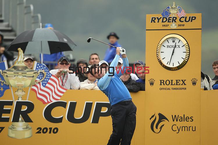 Ryder Cup 2010.Graeme McDowell.29.09.10.©Steve Pope.