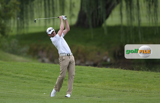 A fine 67 from Stuart Manley (WAL) on the West Course during Round One of the Joburg Open 2015 at the Royal Johannesburg & Kensington Golf Club, Johannesburg, Gauteng, South Africa. Picture:  David Lloyd / www.golffile.ie. 26/02/2015
