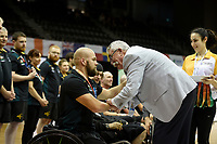 Ryley Batt (AUS) vs Japan<br /> Australian Wheelchair Rugby Team<br /> 2018 IWRF WheelChair Rugby <br /> World Championship / Finals<br /> Sydney  NSW Australia<br /> Friday 10th August 2018<br /> &copy; Sport the library / Jeff Crow / APC