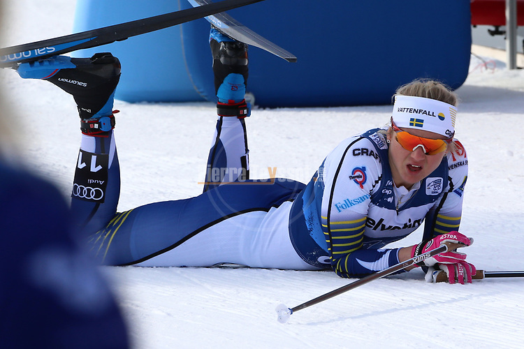 FIS Tour de Ski - Cross Country Ski World Cup 2020  in Val Di Fiemme, on January 4, 2020; Men and Women Sprint Classic ; Maja Dahlqvist, SWE