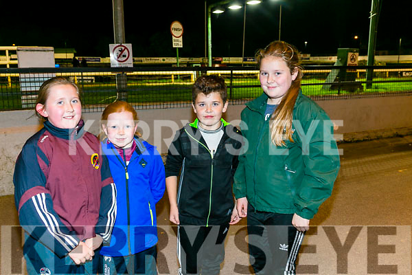 Enjoying a night at the Dogs in the Kingdom Greyhound Stadium were Jessica Riordan, Maggie Riordan, Oisin cronin and Breda Cronin,  from Scartaglin and Tralee