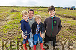 The Keane family from Lixnaw at the ploughing championships in Causeway on Sunday.<br /> L to r: Michael, Joe, Jack and Thomas Keane.