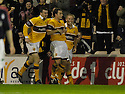25/11/2006       Copyright Pic: James Stewart.File Name :sct_jspa09_motherwell_v_falkirk.SCOTT MCDONALD CELEBRATES SCORING MOTHERWELL'S THIRD.James Stewart Photo Agency 19 Carronlea Drive, Falkirk. FK2 8DN      Vat Reg No. 607 6932 25.Office     : +44 (0)1324 570906     .Mobile   : +44 (0)7721 416997.Fax         : +44 (0)1324 570906.E-mail  :  jim@jspa.co.uk.If you require further information then contact Jim Stewart on any of the numbers above.........