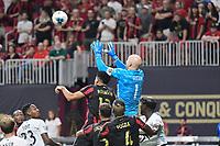 ATLANTA, Georgia - August 27: Brad Guzan #1 during the 2019 U.S. Open Cup Final between Atlanta United and Minnesota United at Mercedes-Benz Stadium on August 27, 2019 in Atlanta, Georgia.