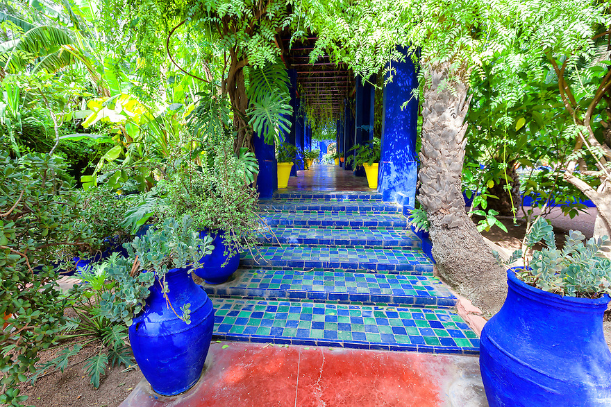 Majorelle Garden in Marrakech.