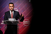 Luigi Di Maio<br /> Rome January 22nd 2020. Press conference of the Italian Minister of Foreign Affairs to announce that he quits as Movement 5 Stars leader.<br /> Foto Samantha Zucchi Insidefoto