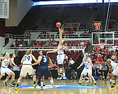 The University of Michigan women's basketball team beat Villanova, 60-52, in the first round of the  NCAA Tournament at Maples Pavilion in Palo Alto, Calif., March 24, 2013.