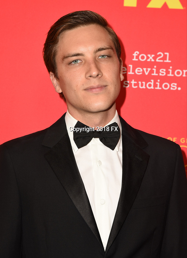 "HOLLYWOOD - JANUARY 8: Cody Fern attends the Red Carpet Premiere Event for FX's ""The Assassination of Gianni Versace: American Crime Story"" at ArcLight Hollywood on January 8, 2018, in Hollywood, California. (Photo by Scott Kirkland/FX/PictureGroup)"