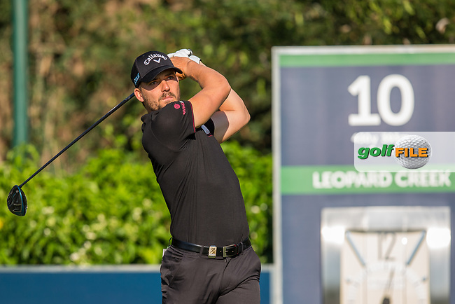 Haydn Porteous (RSA) during the 1st round of the Alfred Dunhill Championship, Leopard Creek Golf Club, Malelane, South Africa. 13/12/2018<br /> Picture: Golffile | Tyrone Winfield<br /> <br /> <br /> All photo usage must carry mandatory copyright credit (&copy; Golffile | Tyrone Winfield)