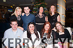 Gone to the dogs<br /> ---------------------<br /> front office staff of Fels Point hotel,Tralee had a great night at Kingdom greyhound stadium,Tralee last Friday night for their annual Christmas bash,seated L-R Jack Watkinson,shona Houlihan,Mags Corbett&amp;Collett O'Connor,(back) L-R Mary O'Neill,Danial griffin,Carol Heffernan&amp;Maud O'Dowd.