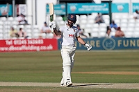 Ryan the Doeschate acknowledges the crowd after reaching 150 runs during Essex CCC vs Somerset CCC, Specsavers County Championship Division 1 Cricket at The Cloudfm County Ground on 26th June 2018