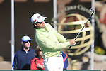 Graeme McDowell (N.IRL) on the practice green before the action starts during Day 3 of the Accenture Match Play Championship from The Ritz-Carlton Golf Club, Dove Mountain, Friday 25th February 2011. (Photo Eoin Clarke/golffile.ie)