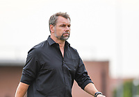 20190717 - LICHTERVELDE , BELGIUM : Mouscron's head coach German Bernd Hollerbach  pictured during a friendly game between KSV Roeselare and Royal Excelsior Mouscron Moeskroen during the preparations for the 2019-2020 season , Wednesday 17 July 2019 ,  PHOTO DAVID CATRY | SPORTPIX.BE