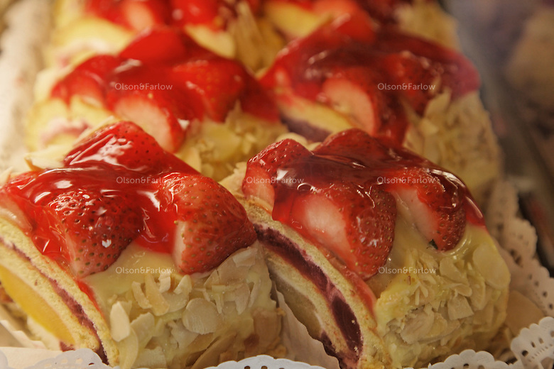 Pastries at Buenes Aires Bakery and Cafe.7134 Collins Avenue.Miami, FL 33141-3212.