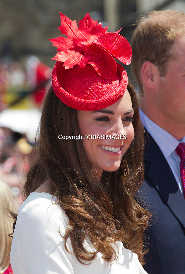 """WILLIAM & KATE ATTEND CANADA DAY CELEBRATIONS.Parliament Hill, Ottawa_01/07/2011.Mandatory Credit Photo: ©DIAS-DIASIMAGES..**ALL FEES PAYABLE TO: """"NEWSPIX INTERNATIONAL""""**..No UK Sales until 29/07/2011.IMMEDIATE CONFIRMATION OF USAGE REQUIRED:.DiasImages, 31a Chinnery Hill, Bishop's Stortford, ENGLAND CM23 3PS.Tel:+441279 324672  ; Fax: +441279656877.Mobile:  07775681153.e-mail: info@newspixinternational.co.uk"""