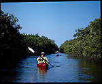 Ken Schultz fisherman along with his wife Sandy and Capt. Rick Murphy explore the backwoods of Flamingo, FL. the southwestern tip of Florida, located in the Everglades National Park.