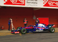 PIERRE GASLY (FRA) of Scuderia Toro Rosso during Day 2 of the 2018 Formula 1 Testing at the Circuit de Catalunya, Barcelona. on 27 February 2018. Photo by Vince  Mignott.