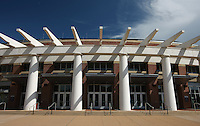 The John Paul Jones Arena (JPJ) (the jack) located at the University of Virginia in Charlottesville, VA.