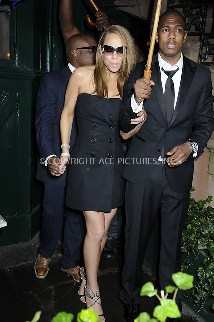 WWW.ACEPIXS.COM................May 9 2008, New York City....Newly-weds Mariah Carey and Nick Cannon went to the Waverly Inn in the West Village of Manhattan. ......Please byline: IGOR DMITRIEV -- ACEPIXS.COMM.. *** ***  ..Ace Pictures, Inc:  ..tel: (646) 769 0430..e-mail: info@acepixs.com..web: http://www.acepixs.com