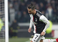 Calcio, Coppa Italia round 8 : Juventus - AS Roma, Turin, Allianz Stadium, January 22, 2020.<br /> Juventus' Cristiano Ronaldo celebrates after scoring during the Italian Cup football match between Juventus and Roma at the Allianz stadium in Turin, January 22, 2020.<br /> UPDATE IMAGES PRESS/Isabella Bonotto