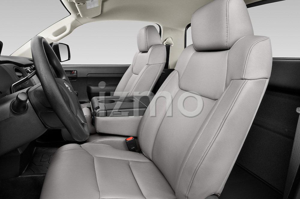 Front seat view of a 2015 Toyota Tundra 5.7 Auto SR Regular Cab 2 Door Truck Front Seat car photos