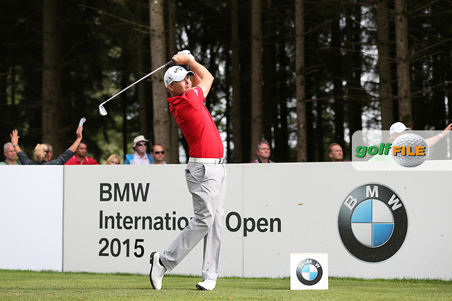 James Morrison (ENG) sets a 2-shot lead over the field with a 67 during Round Three of the 2015 BMW International Open at Golfclub Munchen Eichenried, Eichenried, Munich, Germany. 27/06/2015. Picture David Lloyd | www.golffile.ie