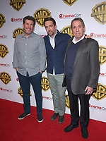29 March 2017 - Las Vegas, NV -  Ed Helms, Lawrence Sher, Ivan Reitman. 2017 Warner Brothers The Big Picture Presentation at CinemaCon at Caesar's Palace.  Photo Credit: MJT/AdMedia