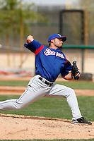 Justin Gutsie  - Texas Rangers - 2009 spring training.Photo by:  Bill Mitchell/Four Seam Images