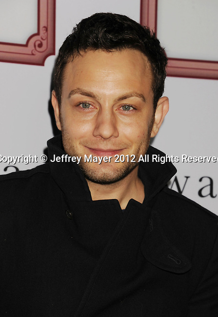 LOS ANGELES, CA - DECEMBER 08: Jonathan Sadowski attends Charlie Ebersol's 'Charlieland' Birthday Party And Charity: Water Fundraiser on December 8, 2012 in Los Angeles, California.