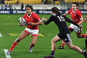 9th June 2017, Westpac Stadium, Wellington, New Zealand; International Womens Rugby; New Zealand versus Canada;  Canada player Magali Harvey in action