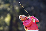 WILMINGTON, NC - OCTOBER 27: NC State's Naomi Ko (CAN) on the 13th tee. The first round of the Landfall Tradition Women's Golf Tournament was held on October 27, 2017 at the Pete Dye Course at the Country Club of Landfall in Wilmington, NC.