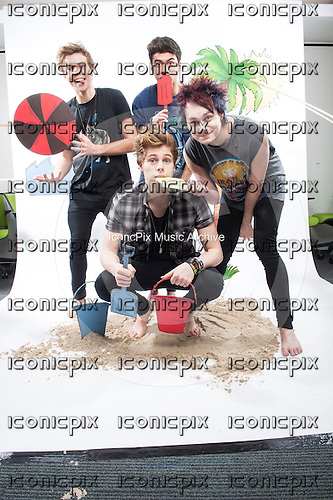 5 Seconds of Summer - EXCLUSIVE Photosession in London UK - 07 Mar 2014.  Photo credit: Ian Collins/IconicPix