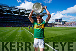 David Clifford Kerry captain with the Tom Markham Cup after defeating Derry in the All-Ireland Minor Footballl Final in Croke Park on Sunday.