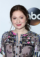 PASADENA, CA - JANUARY 8- Emma Kenney, at Disney ABC Television Group Hosts TCA Winter Press Tour 2018 at the Langham Hotel in Pasadena, California on January 8, 2018. <br /> CAP/MPI/FS<br /> &copy;FS/MPI/Capital Pictures