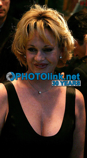 New York City<br /> CelebrityArchaeology.com<br /> 2004 FILE PHOTO<br /> Melanie Griffith<br /> Photo by John Barrett-PHOTOlink.net<br /> -----<br /> CelebrityArchaeology.com, a division of PHOTOlink,<br /> preserving the art and cultural heritage of celebrity <br /> photography from decades past for the historical<br /> benefit of future generations.<br /> ——<br /> Follow us:<br /> www.linkedin.com/in/adamscull<br /> Instagram: CelebrityArchaeology<br /> Twitter: celebarcheology