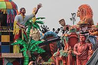 SÃO PAULO,SP, 03.02.2016 - CARNAVAL-SP - Carros alegóricos são vistos na concentração do sambódromo do Anhembi região norte da cidade para os desfiles do Carnaval 2016 na tarde desta quarta-feira (03). ( Foto : Marcio Ribeiro / Brazil Photo Press)