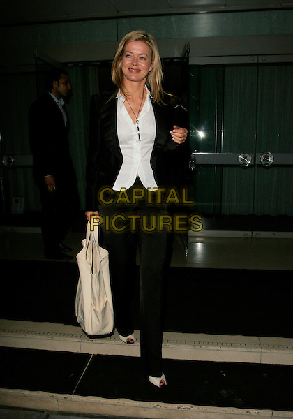 LADY HELEN TAYLOR.Attends Suka, An evening at Sanderson in aid of CLIC Sargent, The Sanderson, Berners Street,.London, England, May 15th 2007..full length white sleeveless shirt black jacket trousers peep-toe shoes bag.CAP/AH.©Adam Houghton/Capital Pictures.