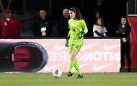 CARSON, CA - FEBRUARY 7: Emily Alvarado #12 GK of Mexico during a game between Mexico and USWNT at Dignity Health Sports Park on February 7, 2020 in Carson, California.