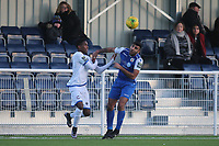 Johnathan Nzengo of Romford during Grays Athletic vs Romford, Bostik League Division 1 North Football at Parkside on 1st January 2018