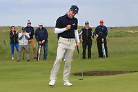 Martin Vorster (RSA) puts to win on the 18th green during Round 4 of The East of Ireland Amateur Open Championship in Co. Louth Golf Club, Baltray on Monday 3rd June 2019.<br /> <br /> Picture:  Thos Caffrey / www.golffile.ie<br /> <br /> All photos usage must carry mandatory copyright credit (© Golffile | Thos Caffrey)