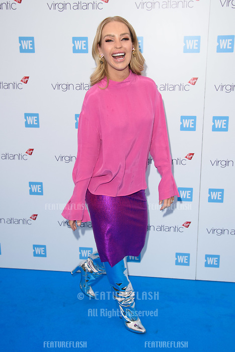 Katie Piper arriving for WE Day 2018 at Wembley Arena, London, UK. <br /> 07 March  2018<br /> Picture: Steve Vas/Featureflash/SilverHub 0208 004 5359 sales@silverhubmedia.com