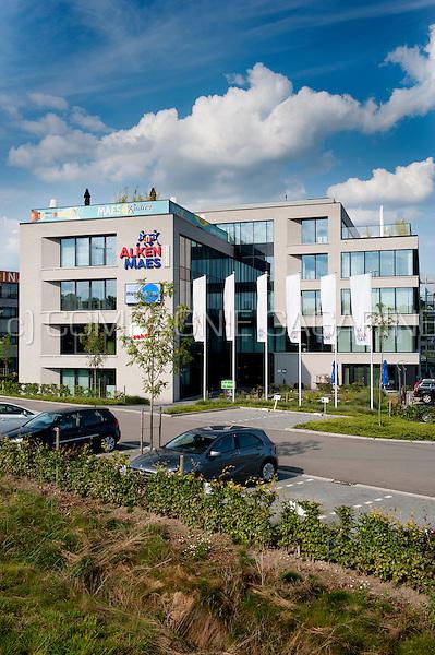 The headquarters of the brewery concern Alken-Maes in Mechelen (Belgium, 05/08/2014)