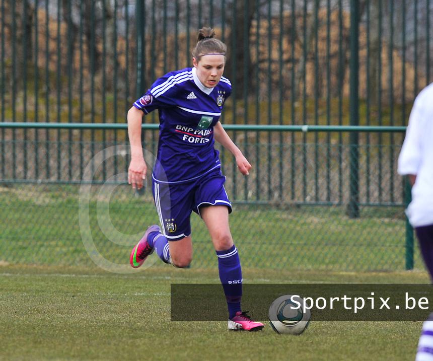 RSC Anderlecht Dames : Lorca Van De Putte.foto DAVID CATRY / Vrouwenteam.be