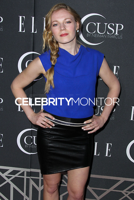 HOLLYWOOD, LOS ANGELES, CA, USA - APRIL 22: Emma Bell at the 5th Annual ELLE Women In Music Concert Celebration presented by CUSP by Neiman Marcus held at Avalon on April 22, 2014 in Hollywood, Los Angeles, California, United States. (Photo by Xavier Collin/Celebrity Monitor)