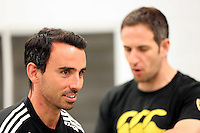 Pictured: Leon Britton Tuesday 30 June 2015<br /> Re: Pre-season assessment of Swansea City FC players on the grounds of Swansea University, south Wales, UK