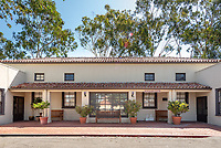 Emmons Wellness Center at Occidental College, photographed on July 13, 2018. Offering medical care, psychological counseling services, and student-driven wellness education.<br /> (Photo by Marc Campos, Occidental College Photographer)
