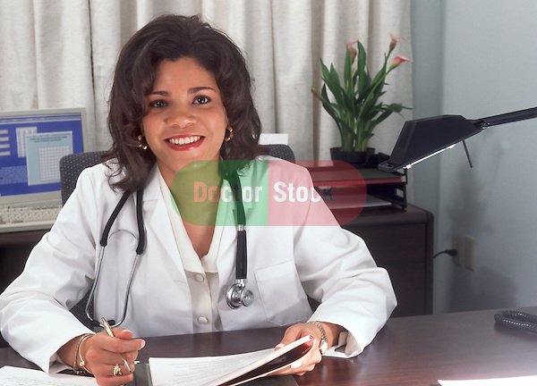 Portrait of medical professional in office